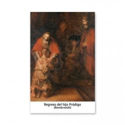 100 Estampas - Regreso del Hijo Pródigo (Rembrandt)