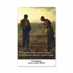 100 Estampas - El Ángelus (Jean-François Millet)