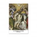 100 Estampas - La Santísima Trinidad (El Greco)