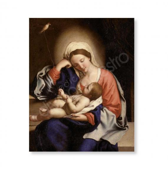 100 Postales - Los Cuidados de La Virgen (Sassoferrato)