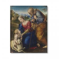 100 Postales - La Sagrada Familia del Cordero (Rafael)