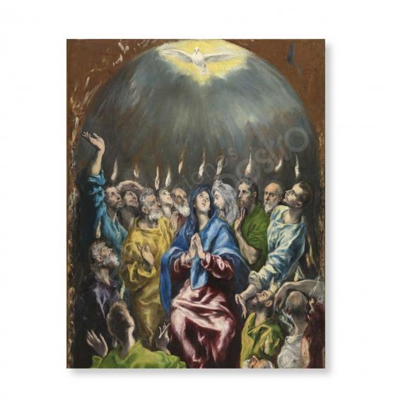100 Postales - Pentecostés (El Greco)