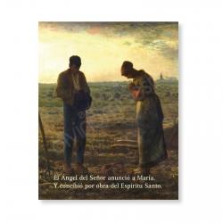 100 Postales - El Ángelus (Jean-François Millet)