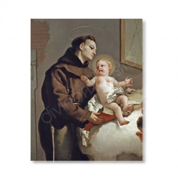 100 Postales - San Antonio de Padua (G. Tiepolo)
