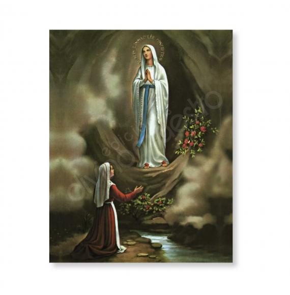 100 Postales - Ntra. Sra. de Lourdes