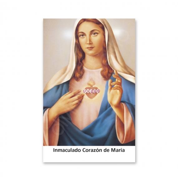 100 Estampas - Inmaculado Corazón de María