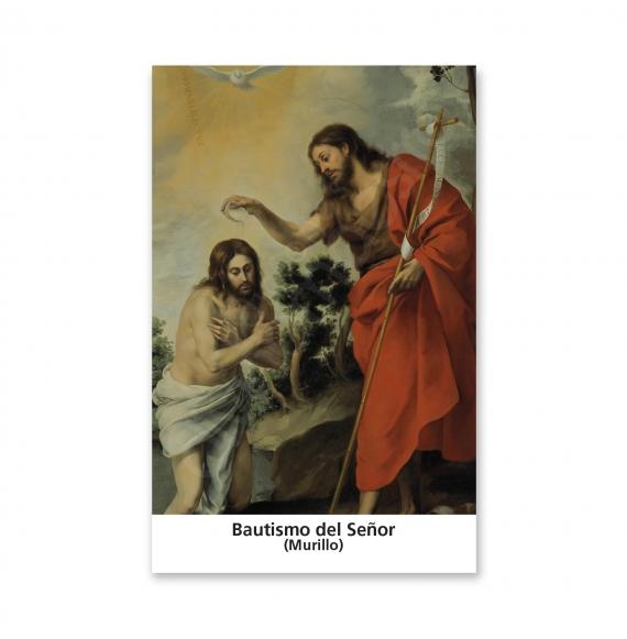 100 Estampas - El Bautismo del Señor (Murillo)