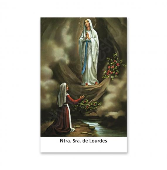 100 Estampas- Ntra. Sra. de Lourdes