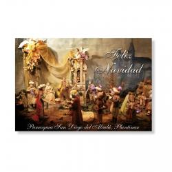 Tarjeta Especial Postal de Navidad 100 Und.