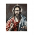 Postal- Cristo Bendiciendo (El Greco)