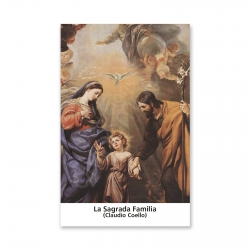 100 Estampas- La Sagrada Familia (Claudio Coello)