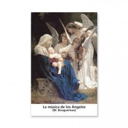 100 Estampas- La Música de Los Ángeles (Bouguereau)