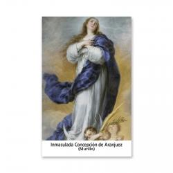 100 Estampas- Inmaculada Concepción de Aranjuez (Murillo)