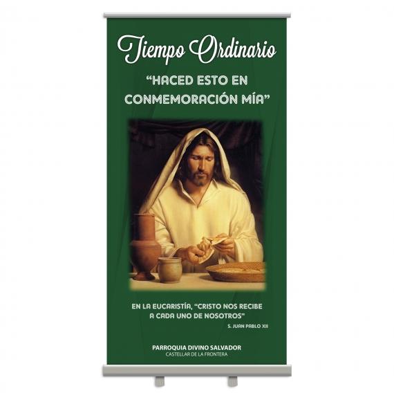 Display Enrollable TIEMPO ORDINARIO 100x200 cm