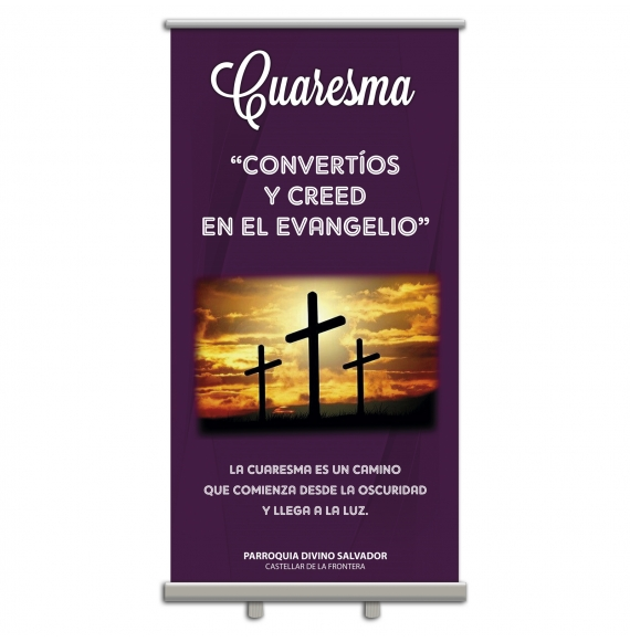 Display Enrollable CUARESMA 100x200 cm
