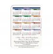 100 Calendarios de bolsillo - San Cristóbal