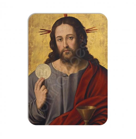 100 Calendarios de bolsillo - El Salvador con la Eucaristía-Juan de Juanes