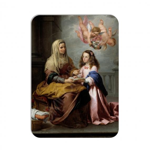100 Calendarios de bolsillo - Santa Ana y la Virgen- Murillo