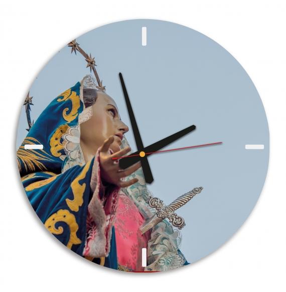 Reloj de pared circular
