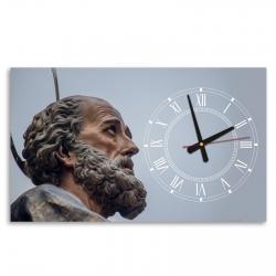 Reloj de pared horizontal