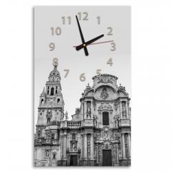 Reloj de pared vertical