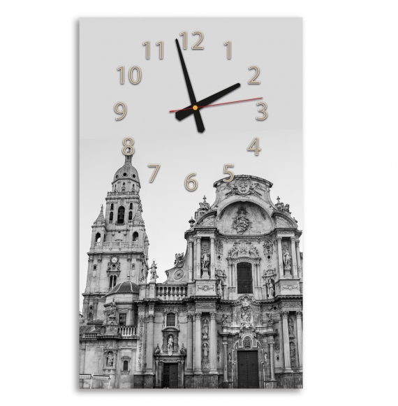 Reloj de pared vertical
