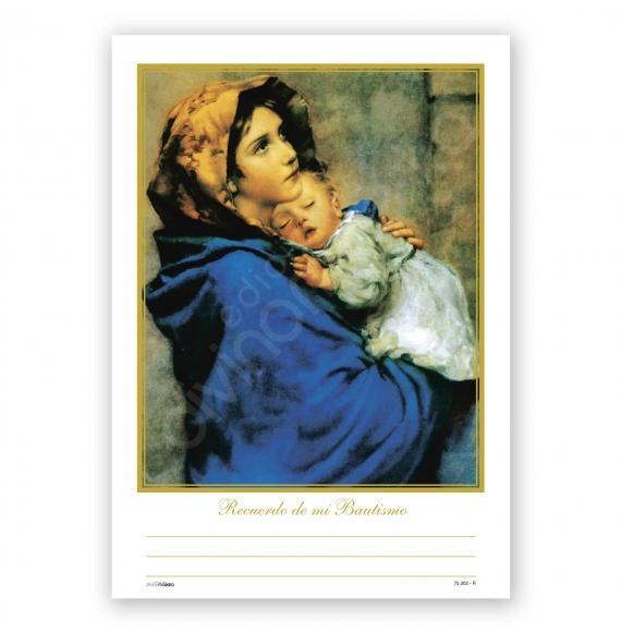 Record. Bautismo Bolsa 25 Unid La Madonna