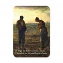 100 Calendarios de bolsillo - El Ángelus (Jean-François Millet)