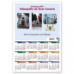 Calendario Parroquial Eco Pared con SU IMAGEN