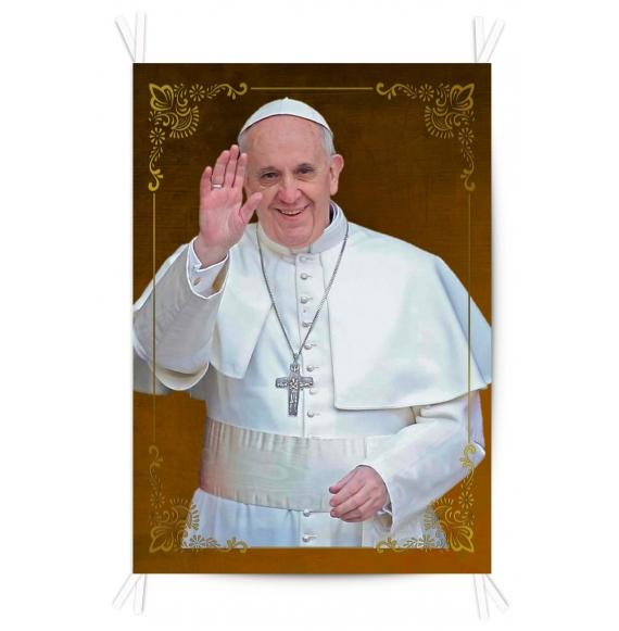 Balconera Tela Papa Francisco 70x100