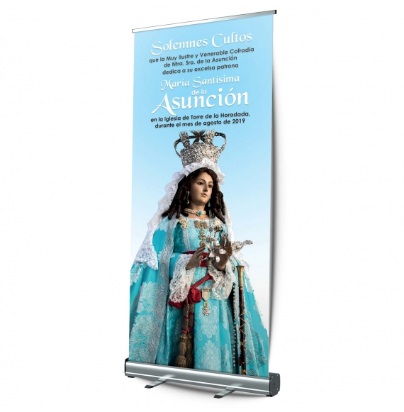 Display roll-up Enrollable 100x200 cm