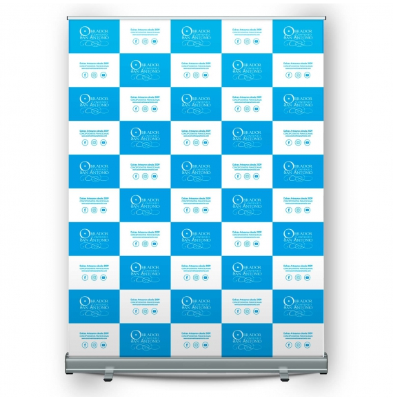 Display roll-up Enrollable 150x200 cm