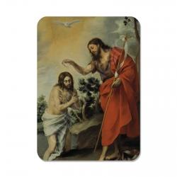 100 Calendarios de bolsillo - El Bautismo del Señor (Murillo)