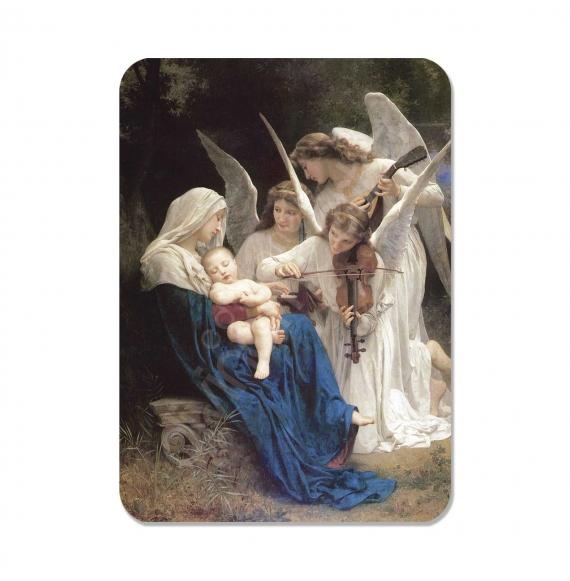 100 Calendarios de bolsillo - La Música de Los Ángeles (W.Bouguereau)