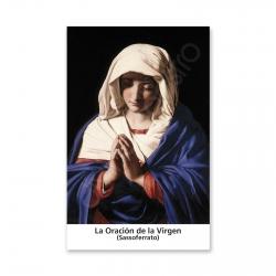 100 Estampas - La Oración de La Virgen (Sassoferrato)