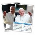 Calendario bimensual de pared 7 Hojas Papa Francisco