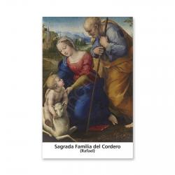 100 Estampas -  La Sagrada Familia del Cordero (Rafael)