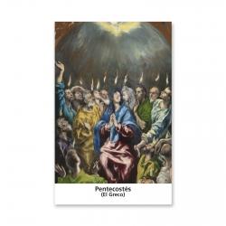 100 Estampas -  Pentecostés (El Greco)